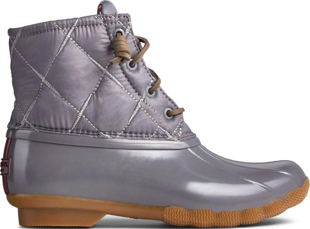 Sperry grey Nylon Boot