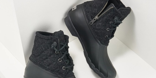 Sperry Women's Duck Boots from $44.98 Shipped on QVC.com (Regularly $80)