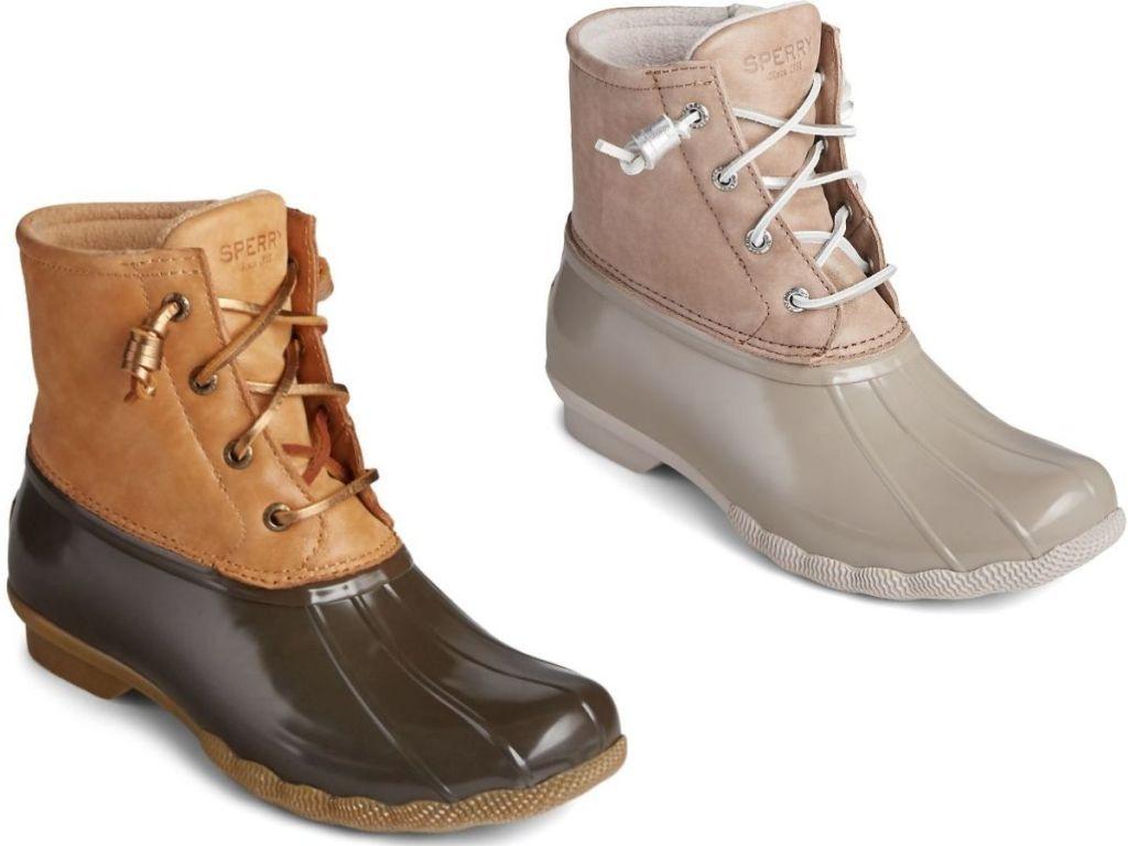 Women's Sperry Duck Boots
