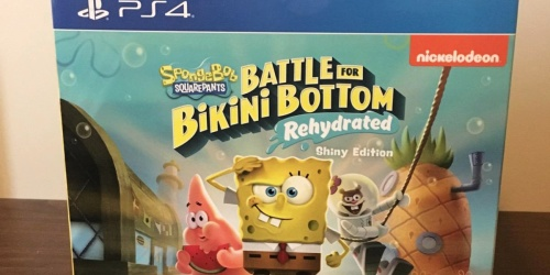 Spongebob Squarepants PS4 Game Bundle Only $55.18 Shipped on Amazon (Regularly $150) | Includes Figurine, Socks & More