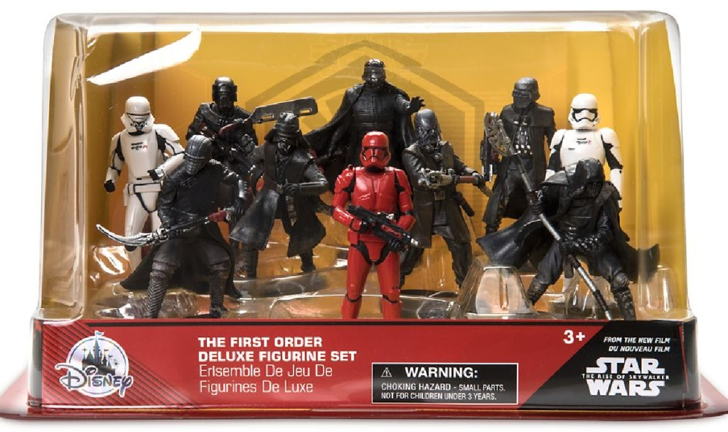 Star Wars: The Rise of Skywalker Deluxe Figure Play Set – The First Order