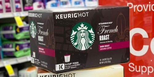 Starbucks Dark Roast  K-Cups 60-Count Just $23.73 Shipped on Amazon (Only 40¢ Each)