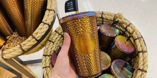 Would You Pay $16.95 for this Limited Edition Starbucks Gold Cup?