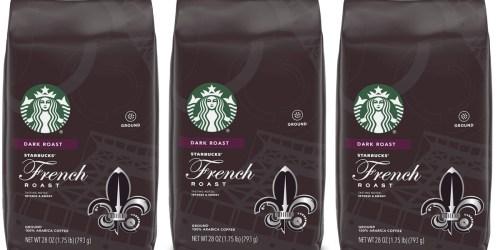 Starbucks Ground Coffee 28 Oz Bag Only $9.79 on Amazon
