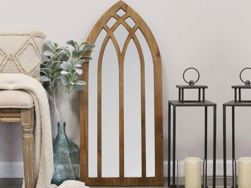 Stratton home Arch Mirror