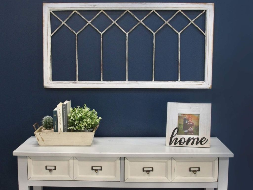 Stratton Home distressed window paine