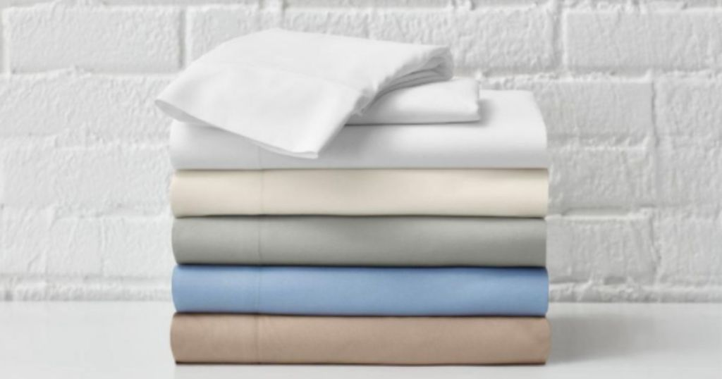stacked StyleWell Solid Sheet Sets