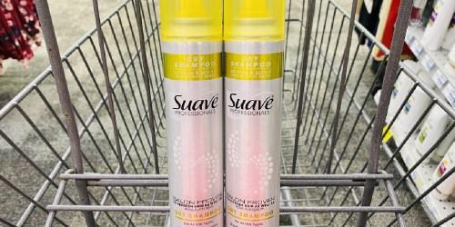 Suave Dry Shampoo Only 79¢ Each After CVS Rewards