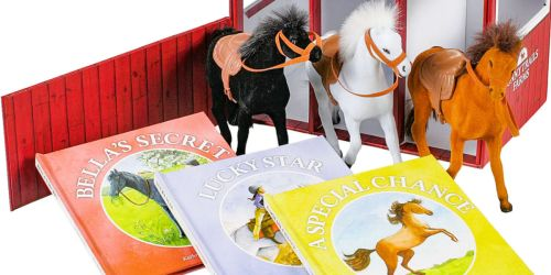 3 Books & Plush Horse Stable Playset Only $14.98 on SamsClub.com