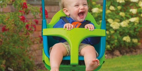 Adjustable 4-in-1 Swing Seat Only $39.97 Shipped on Amazon (Regularly $85) | 6 Months to 8 Years