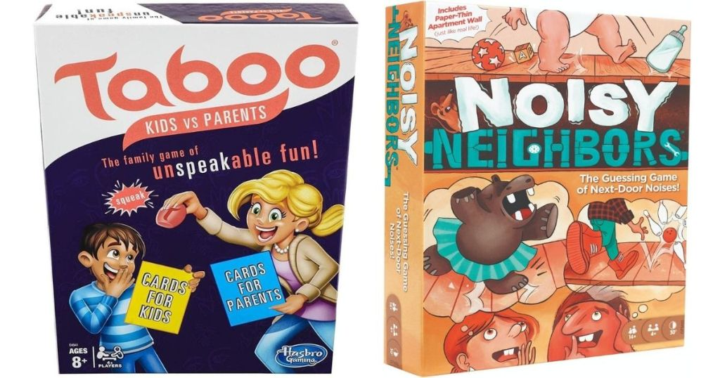 Taboo and Noisy Neighbors game