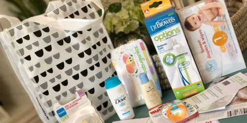 FREE Target Baby Registry Gift Bag | Includes Samples, Reusable Bag & Over $120 Worth of Coupons