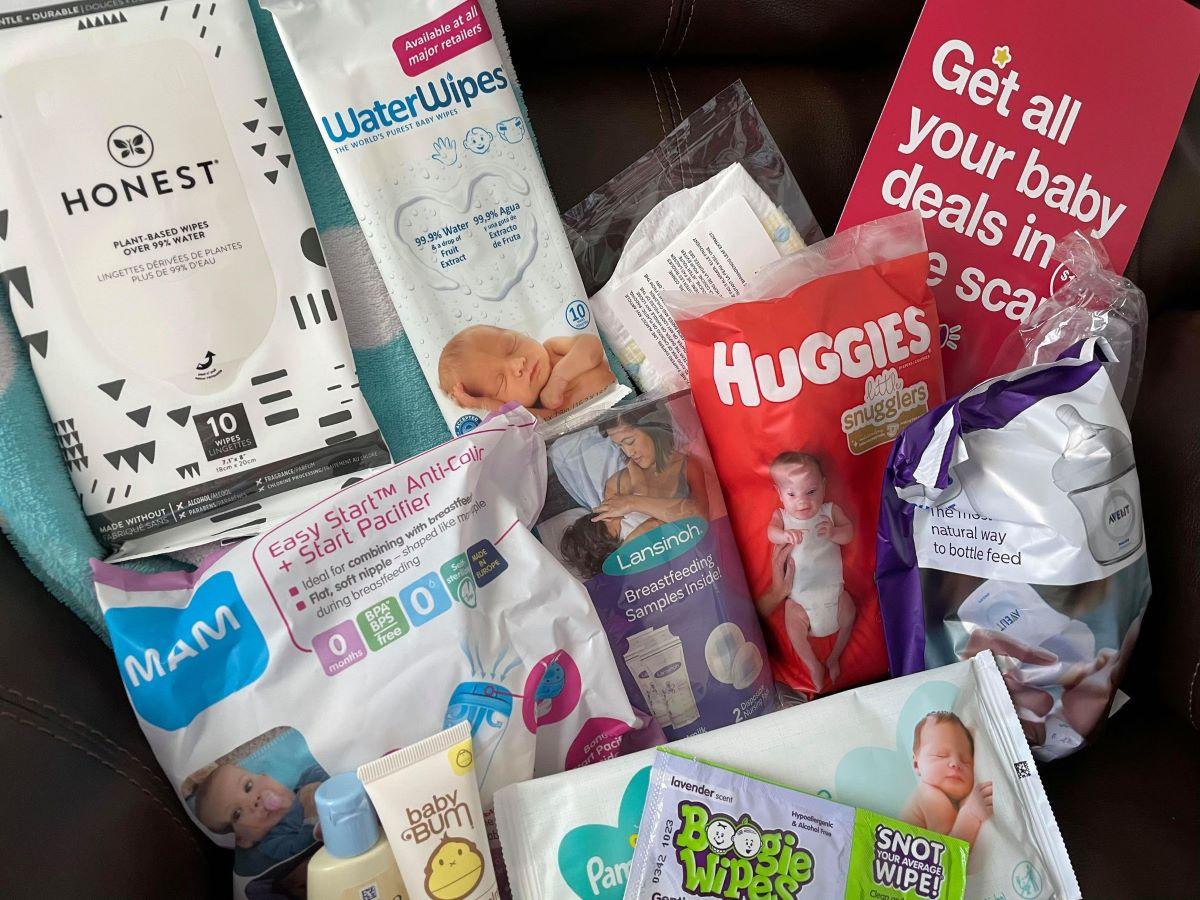 Target Baby Registry samples