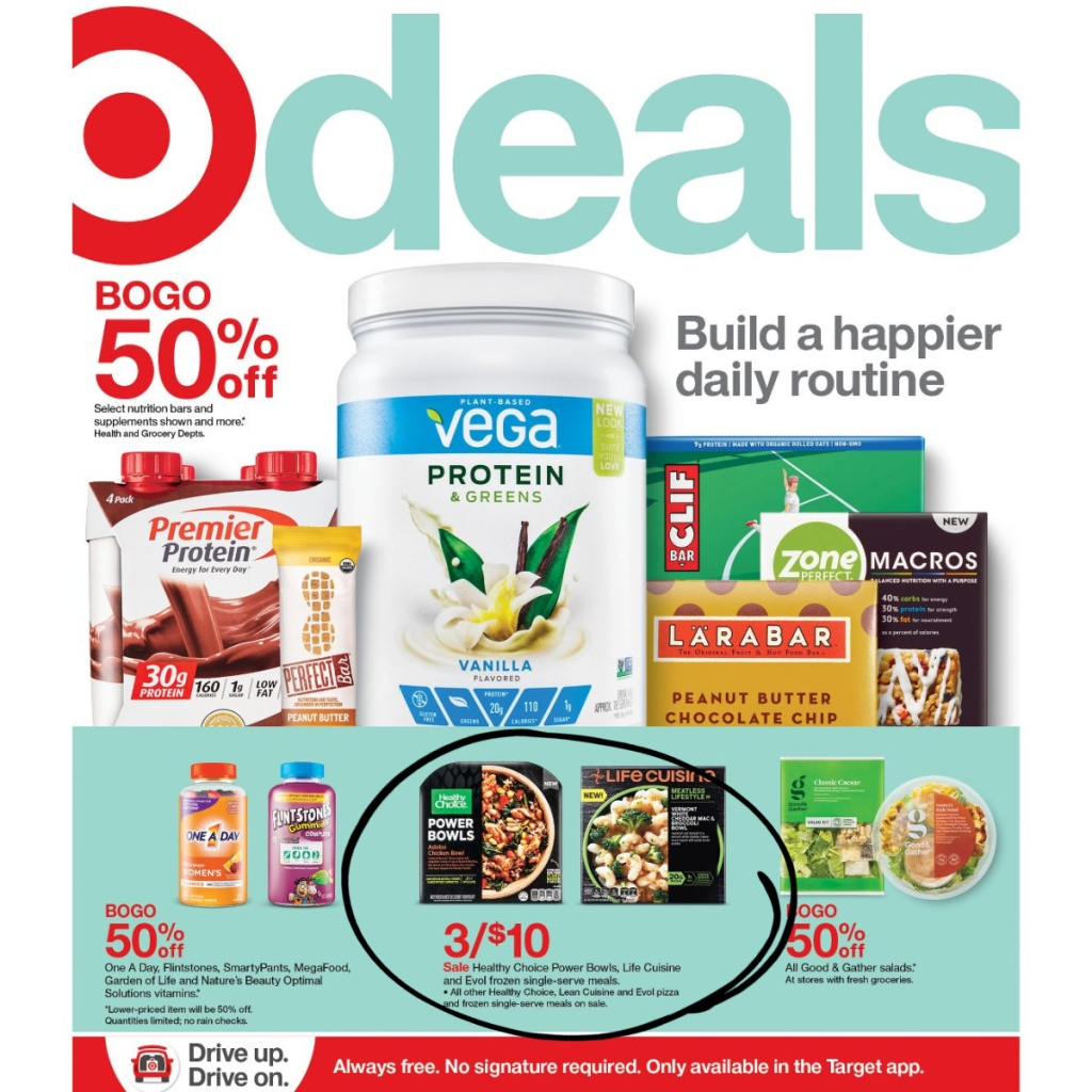 Target Weekly Ad 1/3-1/9 Page 1