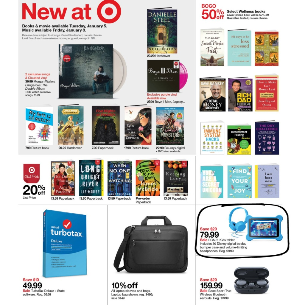 Target Weekly Ad 1/3-1/9 Page 14