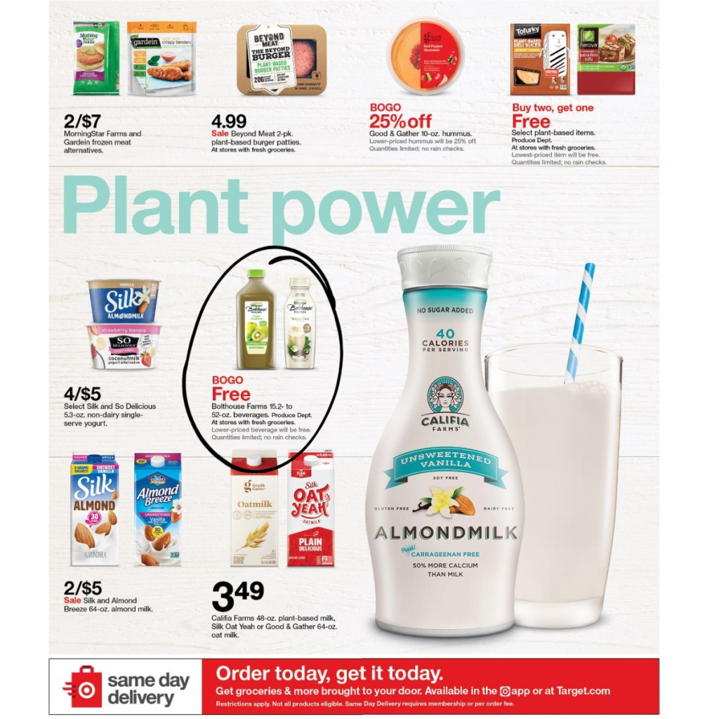 Target Weekly Ad 1/3-1/9 Page 3