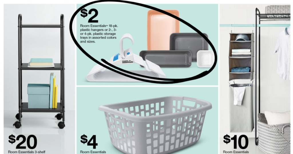 Target Weekly Ad page with organizational items