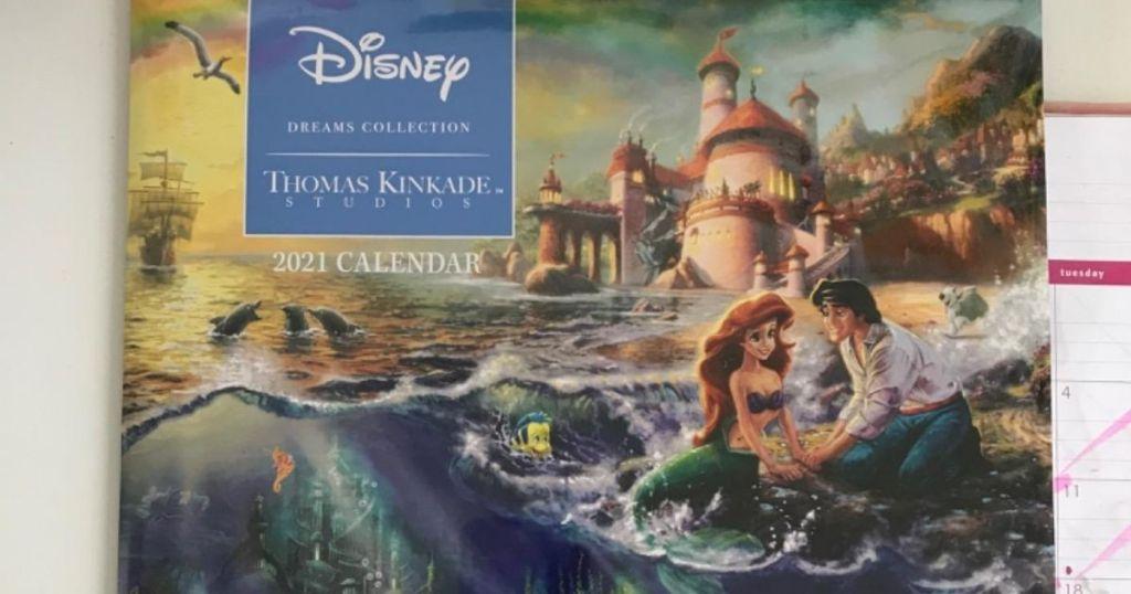 Thomas Kinkade Disney 2021 Calendar