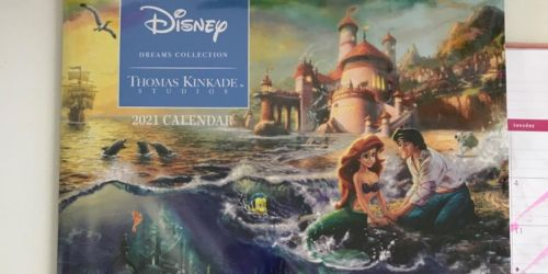 Disney Dreams Collection by Thomas Kinkade Studios: 2021 Wall Calendar Only $7.49 on Amazon (Regularly $15)