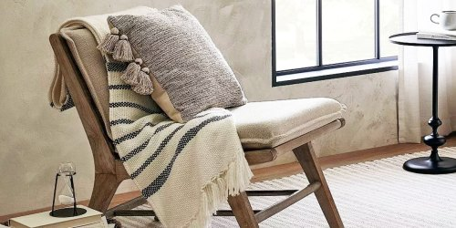 Threshold Accent Chair Only $110 Shipped on Target.com (Regularly $220) + 50% Off More Furniture