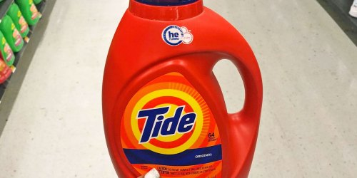 Tide Laundry Detergent 92oz Bottle from $8 on Amazon (Regularly $16)