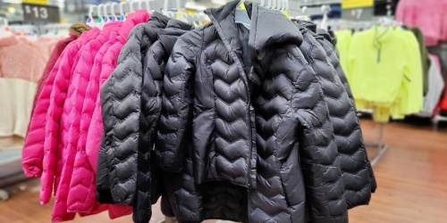 Time and Tru Women's Packable Puffer Jacket Only $13 on Walmart.com (Regularly $25)