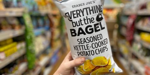 Everything But The Bagel Seasoned Kettle Chips Only $2.49 at Trader Joe's