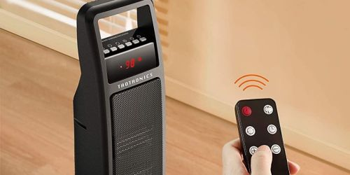 Oscillating Portable Space Heater w/ Remote Only $59 Shipped on Amazon