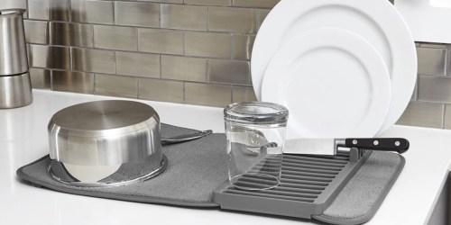 Microfiber Dish Drying Rack & Mat Just $5 on HomeDepot.com
