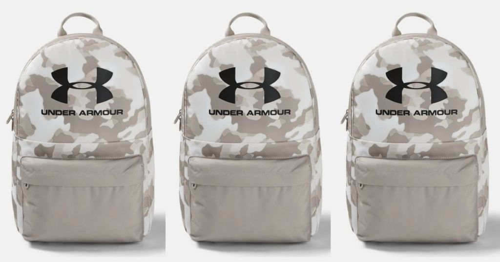 3 views of Under Armour Backpack