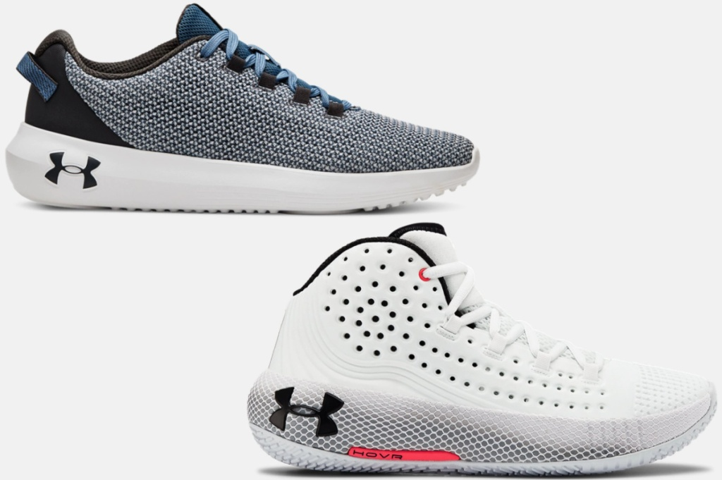 Under Armour Women's UA Ripple Sportstyle Shoes and Under Armour Women's UA HOVR Havoc 2 Basketball Shoes