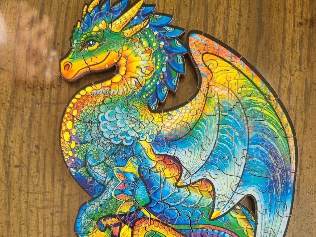 Unidragon Dragon Puzzle