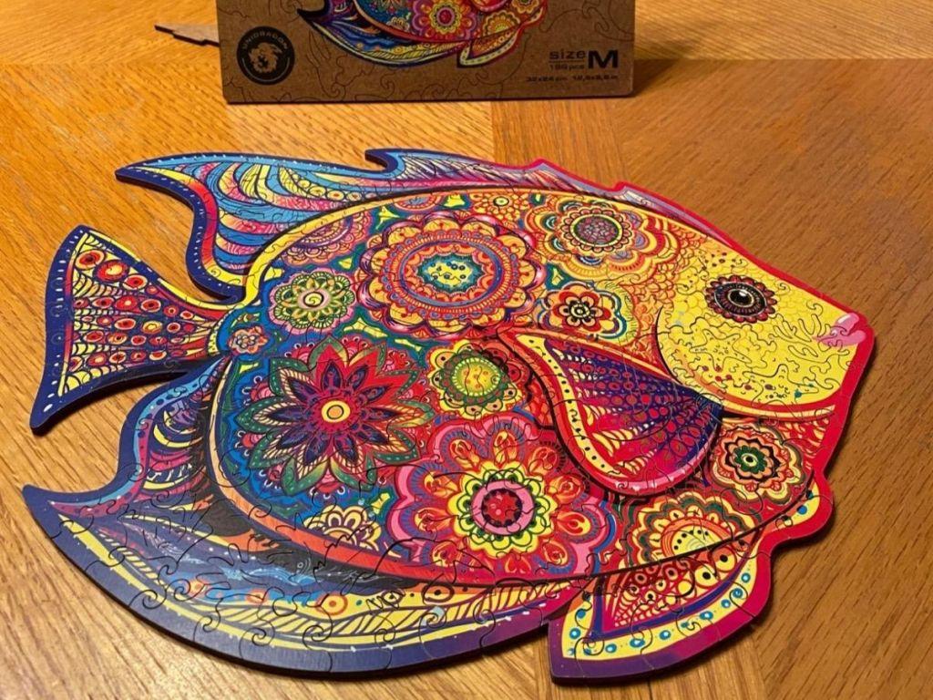 Unidragon Fish Puzzle