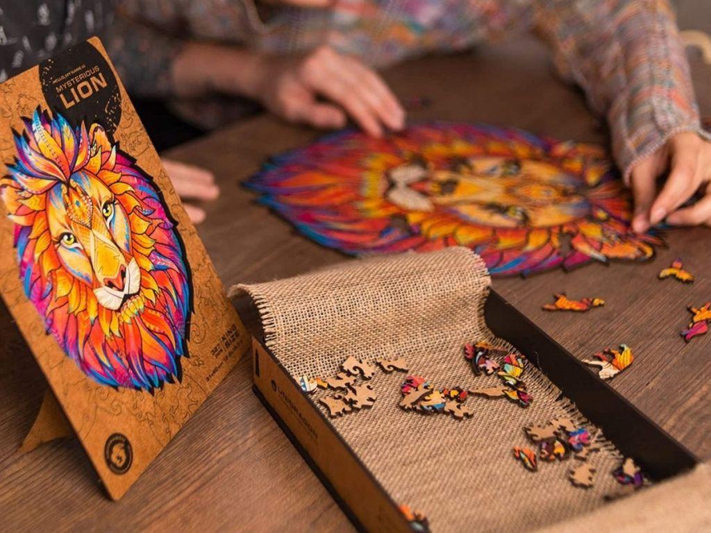 Unidragon Lion Puzzle