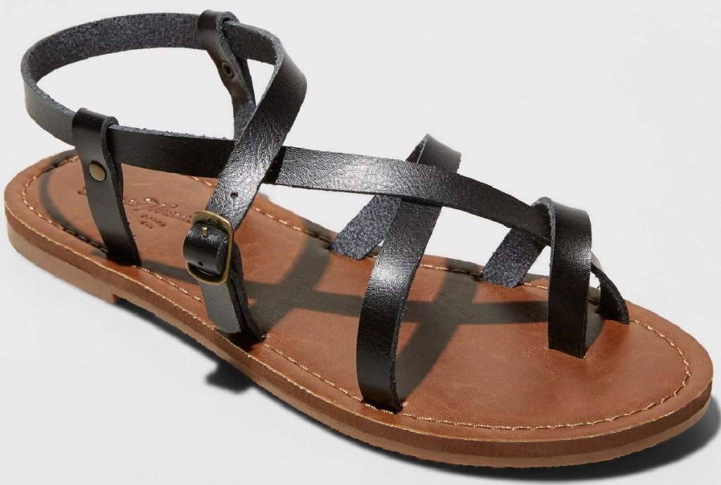 Universal Thread Women's Lavinia Toe Wrap Thong Sandal