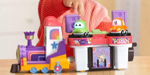 VTech Go! Go! Cory Carson DJ Train Trax & Train Only $12.49 on Walmart.com (Regularly $25)