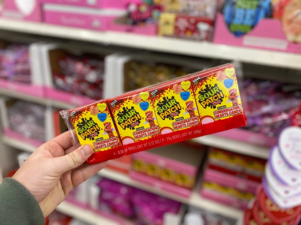 Valentine Day Sour Pack Kids Conversation Hearts