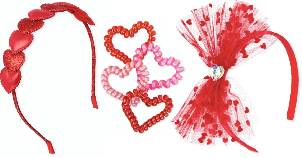 valentines day headbands from The Children's Place