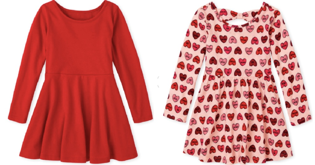 Valentine's day dresses from the childrens place