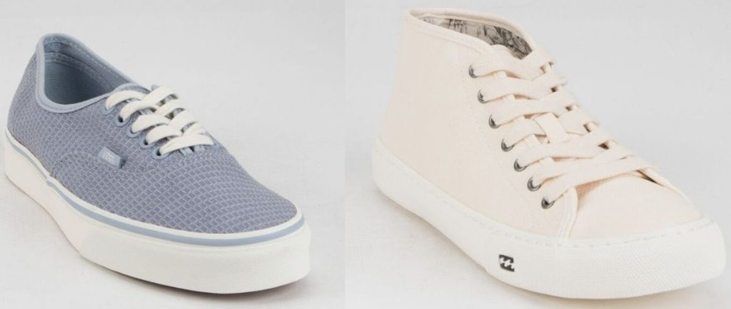 two Womens sneakers
