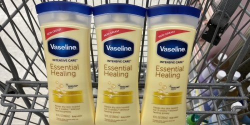 $5 Worth of New Vaseline Coupons = Lotions Only $1.11 Each at Walgreens & Target