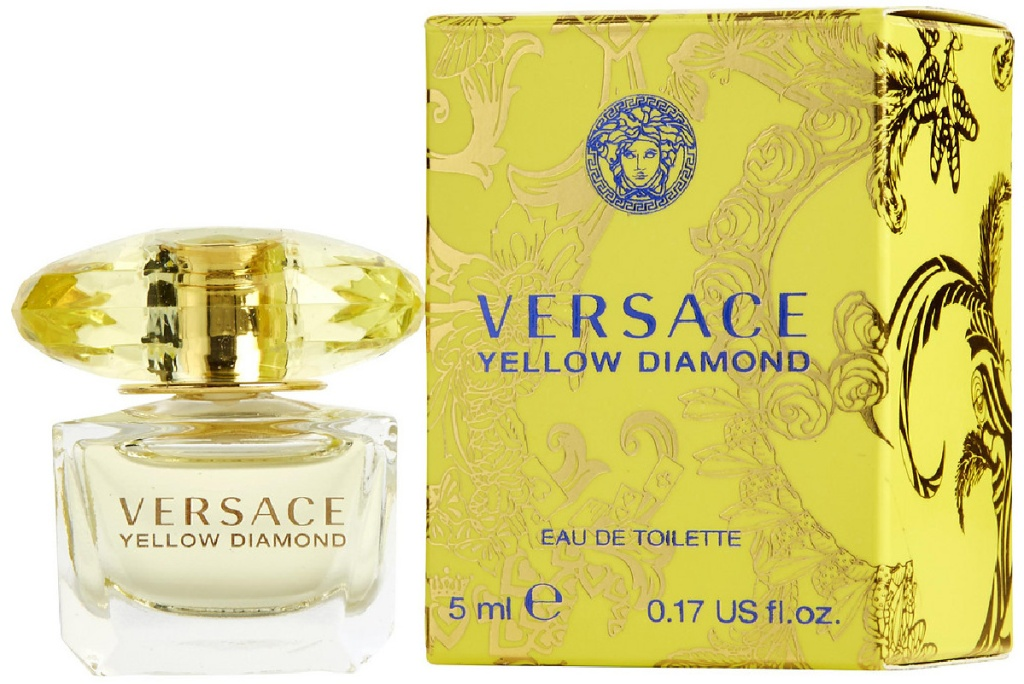 Versace Yellow Diamond Eau De Toilette Spray for Women 1.7 oz