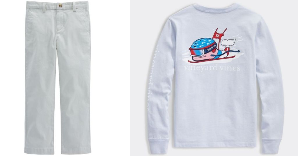 Vineyard Vines Kids Pants and Shirt