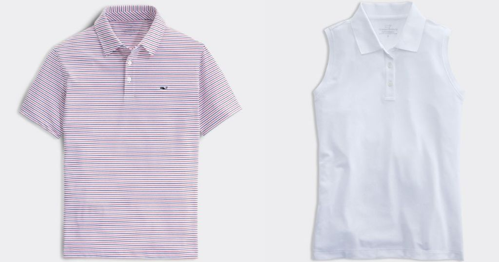 two Vineyard Vines shirts