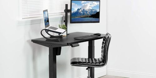 Adjustable Sit-to-Stand Desk Only $159.99 Shipped for Amazon Prime Members (Regularly $300)