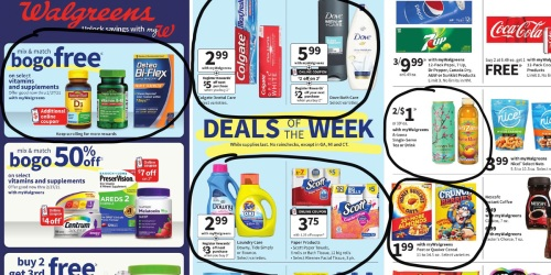 Walgreens Ad Scan for the Week of 1/24/21 – 1/30/21 (We've Circled Our Faves!)