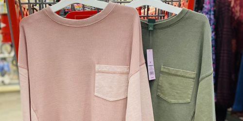 These Trendy Boxy Shirts Are Super Comfy & Just $15 at Target
