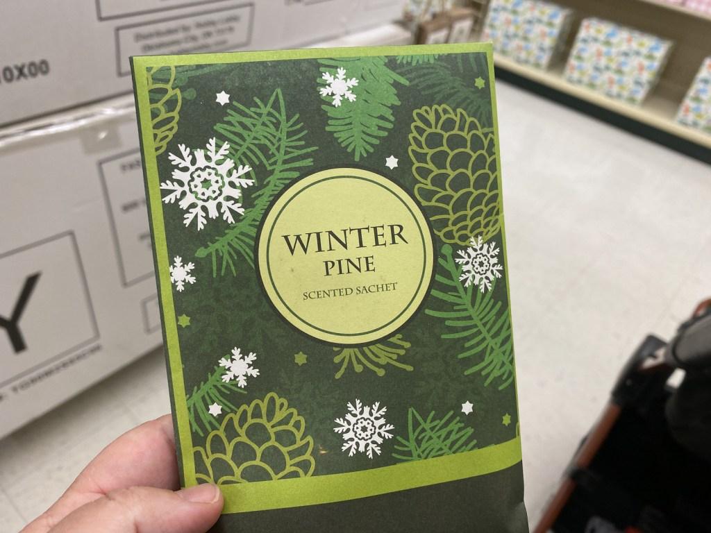 Winter Scented Sachet