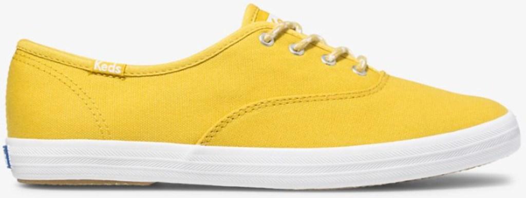 mustard yellow women's ked shoes