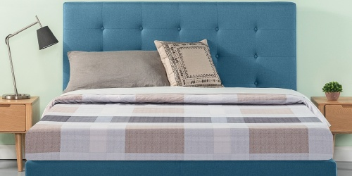 Zinus Platform Upholstered King Bed Only $150 Shipped on Walmart.com (Regularly $249)